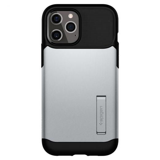 Чехол Spigen Slim Armor Satin Silver (ACS01482) для iPhone 12 Pro Max