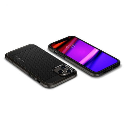 Чехол Spigen Neo Hybrid Gunmetal (ACS01627) для iPhone 12 Pro Max
