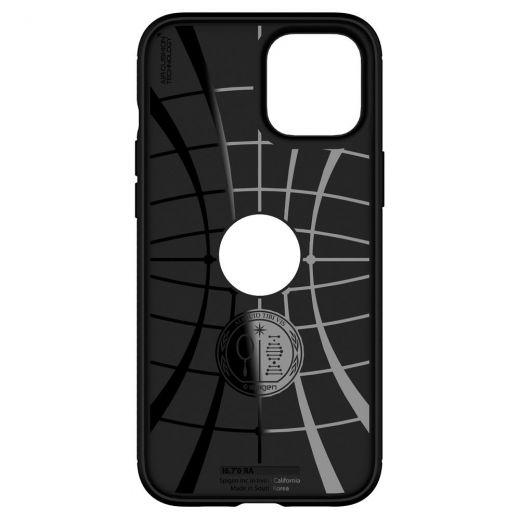 Чехол Spigen Rugged Armor Matte Black (ACS01616) для iPhone 12 Pro Max