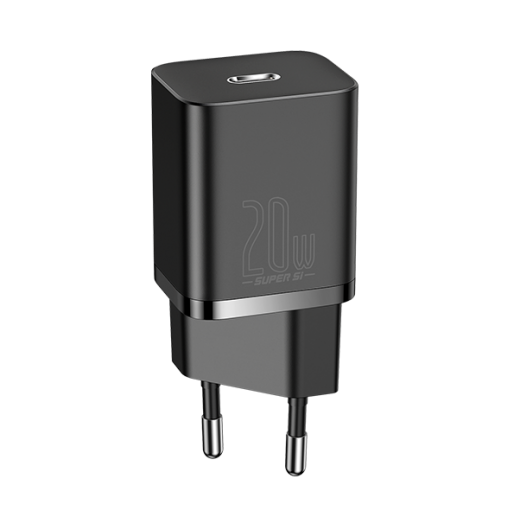 Сетевое зарядное устройство Baseus Super Si Quick Charger 1C 20W Black