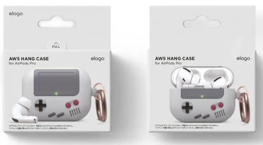Чехол Elago AW5 Hang Case Light Grey (EAPPAW5-LGY) для Airpods Pro