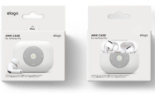 Чехол Elago AW6 Case Black (EAPPAW6-BK) для Airpods Pro