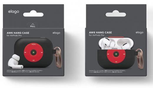 Чехол Elago AW6 Hang Case Black (EAPPAW6-HANG-BK) для Airpods Pro