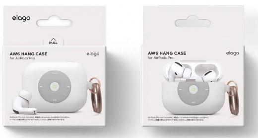 Чехол Elago AW6 Hang Case White (EAPPAW6-HANG-WH) для Airpods Pro