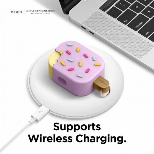Чехол Elago Ice Cream Case Blueberry (EAPP-ICE-LV) для Airpods Pro