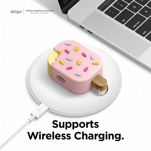 Чехол Elago Ice Cream Case Strawberry (EAPP-ICE-LPK) для Airpods Pro