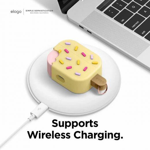 Чехол Elago Ice Cream Case Vanilla (EAPP-ICE-YE) для Airpods Pro