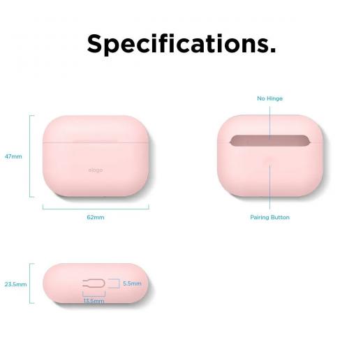 Чехол Elago Slim Case Lovely Pink (EAPPSM-BA-PK) для Airpods Pro