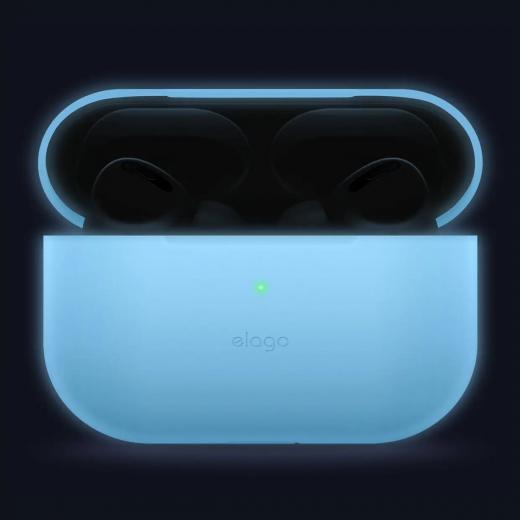 Чехол Elago Slim Case Night Glow Blue (EAPPSM-BA-LUBL) для Airpods Pro