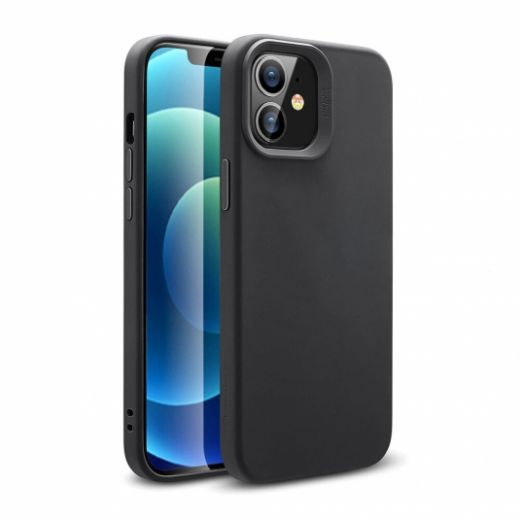 Чехол ESR Cloud Soft HaloLock MagSafe Black для iPhone 12 mini