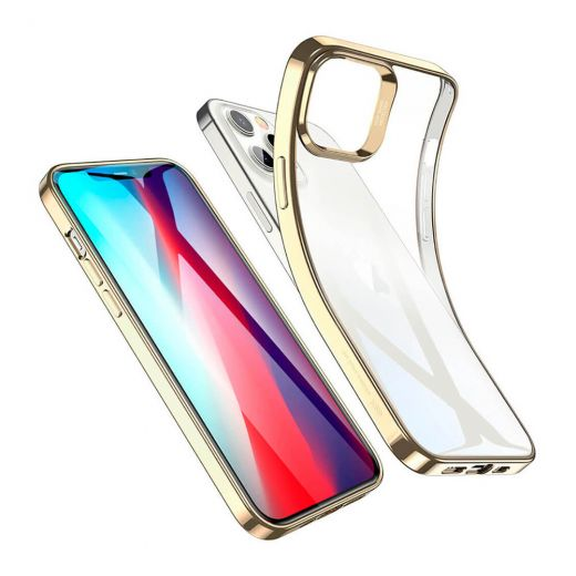 Чехол ESR Halo Clear Gold для iPhone 12 Pro Max