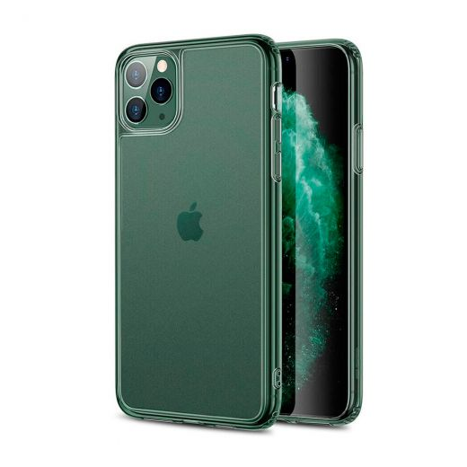 Чехол ESR Matte Tempered Glass Matte Pine Green (3C01193720201) для iPhone 11 Pro