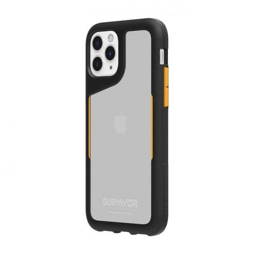 Чехол Griffin Survivor Endurance Black/Citrus/Clear (GIP-028-BCT) для iPhone 11 Pro