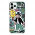 Прозрачный чехол Hustle Case Monopoly Ice Cream Clear для iPhone 13 Pro