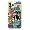 Прозрачный чехол Hustle Case Monopoly Ice Cream 2 Clear для iPhone 13 Pro