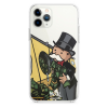 Прозрачный чехол Hustle Case Monopoly Wash Clear для iPhone 13 Pro