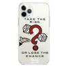 Прозрачный чехол Hustle Case Monopoly Take the risk Clear для iPhone 13 Pro