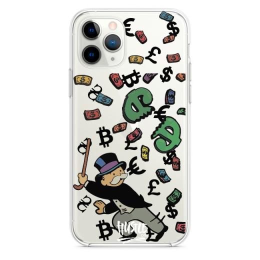 Прозрачный чехол Hustle Case Monopoly Stick Clear для iPhone 13 Pro