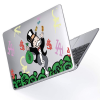 "Чехол-накладка Hustle Case Mr Monopoly Clear для MacBook Pro 13"" (M1   2020 - 2016)"