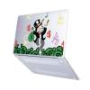 "Чехол-накладка Hustle Case Mr Monopoly Matte Clear для MacBook Pro 13"" (M1 | 2020 - 2016)"