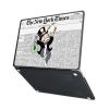 "Чехол-накладка Hustle Case Mr Monopoly Wallpaper Black для MacBook Pro 13"" (M1 | 2020 - 2016)"