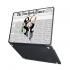 "Чехол-накладка Hustle Case Mr Monopoly Wallpaper Black для MacBook Pro 13"" (M1   2020 - 2016)"