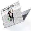 "Чехол-накладка Hustle Case Mr Monopoly Wallpaper Clear для MacBook Pro 13"" (M1   2020 - 2016)"