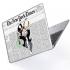 "Чехол-накладка Hustle Case Mr Monopoly Wallpaper Clear для MacBook Pro 13"" (M1 | 2020 - 2016)"