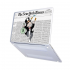 "Чехол-накладка Hustle Case Mr Monopoly Wallpaper Matte Clear для MacBook Pro 13"" (M1 | 2020 - 2016)"