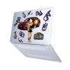 "Чехол-накладка Hustle Case Lola BTC Matte Clear для MacBook Pro 13"" (M1   2020 - 2016)"