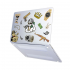 "Чехол-накладка Hustle Case Custom Matte Clear для MacBook Pro 13"" (M1 | 2020 - 2016)"