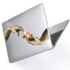 "Чехол-накладка Hustle Case Hands BTC=Money Clear для MacBook Pro 13"" (M1 | 2020 - 2016)"