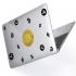 "Чехол-накладка Hustle Case Bitcoin Clear для MacBook Pro 13"" (M1 | 2020 - 2016)"