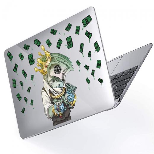 "Чехол-накладка Hustle Case Mr.Bucks Clear для MacBook Pro 13"" (M1   2020 - 2016)"