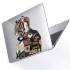 "Чехол-накладка Hustle Case Tiger Clear для MacBook Pro 13"" (M1   2020 - 2016)"
