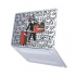 "Чехол-накладка Hustle Case Tom Matte Clear для MacBook Pro 13"" (M1 | 2020 - 2016)"