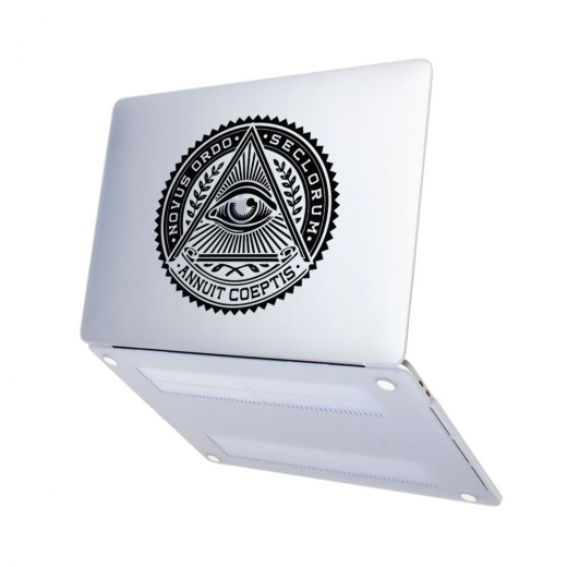 "Чехол-накладка Hustle Case Mason Eye Matte Clear для MacBook Pro 13"" (M1 | 2020 - 2016)"