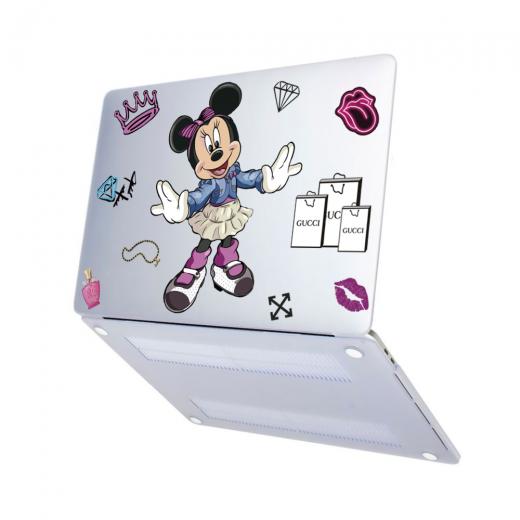 "Чехол-накладка Hustle Case NEW Minnie Matte Clear для MacBook Pro 13"" (M1   2020 - 2016)"