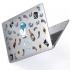 "Чехол-накладка Hustle Case Diamond Clear для MacBook Pro 13"" (M1   2020 - 2016)"