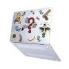"Чехол-накладка Hustle Case Take The Risk Matte Clear для MacBook Pro 13"" (M1   2020 - 2016)"