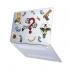 "Чехол-накладка Hustle Case Take The Risk Matte Clear для MacBook Pro 13"" (M1 | 2020 - 2016)"