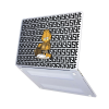 "Чехол-накладка Hustle Case Garfield Matte Clear для MacBook Pro 13"" (M1   2020 - 2016)"