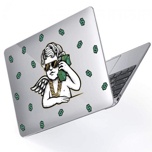 "Чехол-накладка Hustle Case Business Angel Clear для MacBook Pro 13"" (M1   2020 - 2016)"