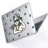 "Чехол-накладка Hustle Case Business Angel Clear для MacBook Pro 13"" (M1 | 2020 - 2016)"