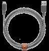 Кабель Native Union Belt Cable USB-A to USB-C Zebra (3 m) (BELT-AC-ZEB-3-NP)