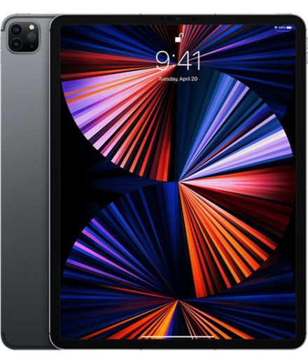 "Планшет Apple iPad Pro 12,9"" M1 Chip (2021) Wi-Fi + Cell 128GB Space Gray (MHNR3)"