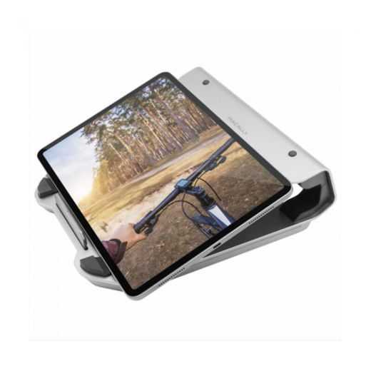 Подставка для Macbook Macally Laptop Riser With 4-Port USB 3.0 HUB and RGB Lighting (MHUBSTAND)