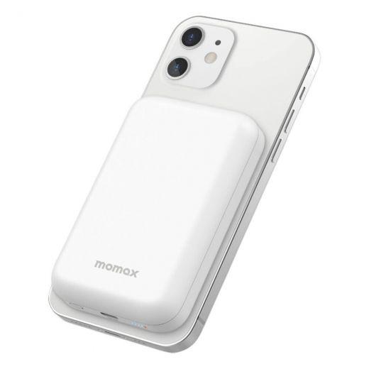 Внешний аккумулятор с беспроводной зарядкой Momax Q.MAG Power 5000mAh для iPhone 12 mini | 12 | 12 Pro | 12 Pro Max