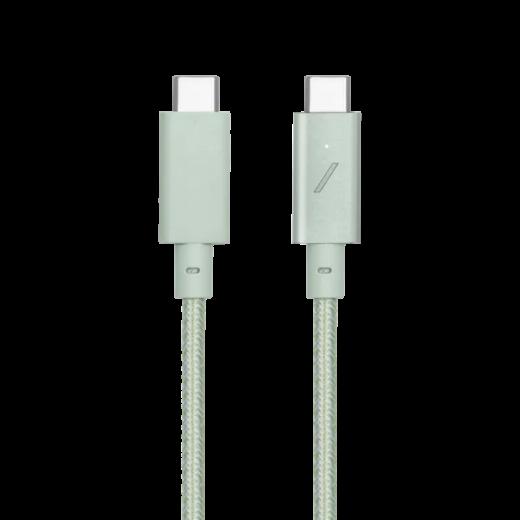Кабель Native Union Desk Cable USB-C to USB-C Sage (2.4 m) (DCABLE-C-GRN-NP)