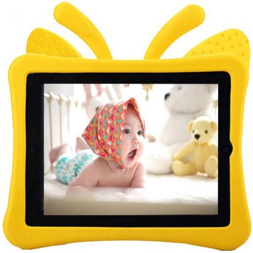 "Детский чехол CasePro Cartoon Butterfly Yellow для Apple iPad 10.2""(2019 | 2020 | 2021)"